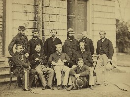 Group of officials, Simla, possibly by Bourne & Shepherd - NPG x129647