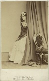 Miss Lindley, by Frederick Richard Window - NPG x20051