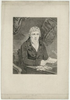 George Brooks of Twickenham, by James Heath, after  Samuel Woodforde - NPG D32186