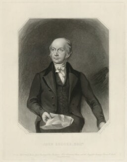 John Brooks, by Samuel William Reynolds, after  Charles Allen Duval - NPG D32187