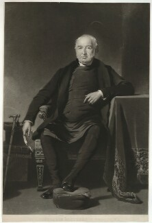 Jonathan Brooks, by Thomas Oldham Barlow, after  Philip Westcott - NPG D32189