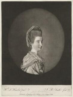Anne Brooksbank (née Gataker), by John Raphael Smith, after  Hugh Douglas Hamilton - NPG D32191