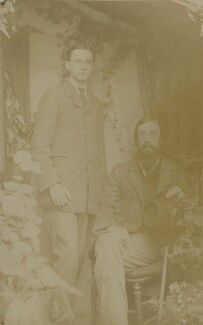 James Beaumont Strachey; Lytton Strachey, by Unknown photographer - NPG Ax13005