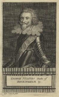 George Villiers, 1st Duke of Buckingham, after Cornelius Johnson (Cornelius Janssen van Ceulen) - NPG D32193