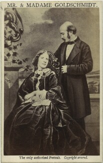 Jenny Lind; Otto Moritz David Goldschmidt, by and after Henry Murray - NPG x17301