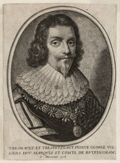 George Villiers, 1st Duke of Buckingham, published by Balthasar Moncornet, 1657 - NPG D26517 - © National Portrait Gallery, London