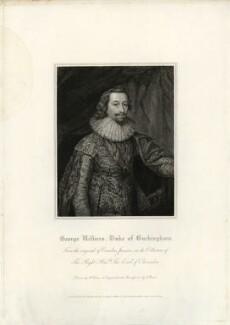 George Villiers, 1st Duke of Buckingham, by Charles Picart, after  Cornelius Johnson (Cornelius Janssen van Ceulen) - NPG D26519