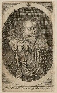 George Villiers, 1st Duke of Buckingham, by Walter Dolle, after  Cornelius Johnson (Cornelius Janssen van Ceulen) - NPG D26522