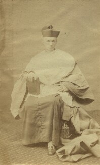 Henry Edward Manning, by Unknown photographer, 1870s - NPG x21205 - © National Portrait Gallery, London