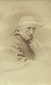 Henry Edward Manning, by Unknown photographer, 1870s - NPG x21208 - © National Portrait Gallery, London