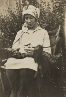 Julia Frances Strachey, by Unknown photographer - NPG Ax13029