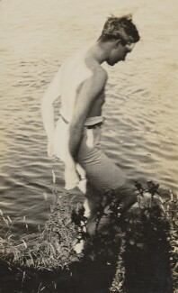 Roger Senhouse, possibly by Lytton Strachey - NPG Ax13033