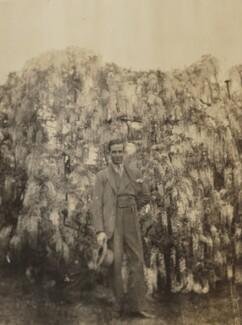 Roger Senhouse, possibly by Lytton Strachey - NPG Ax13034