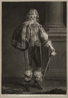 James Stuart, 1st Duke of Richmond and 4th Duke of Lennox, after Sir Anthony van Dyck - NPG D26543