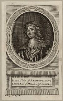 James Stuart, 1st Duke of Richmond and 4th Duke of Lennox, after Sir Anthony van Dyck - NPG D26544