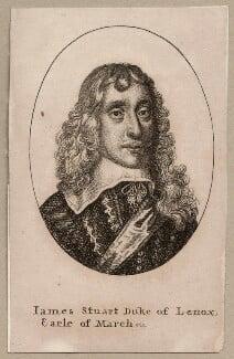 James Stuart, 1st Duke of Richmond and 4th Duke of Lennox, by Wenceslaus Hollar - NPG D26547