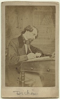 Charles Dickens, by (George) Herbert Watkins, 1858 - NPG Ax18262 - © National Portrait Gallery, London