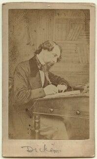Charles Dickens, by Herbert Watkins - NPG Ax18262