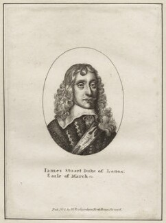 James Stuart, 1st Duke of Richmond and 4th Duke of Lennox, published by William Richardson, after  Wenceslaus Hollar - NPG D26551