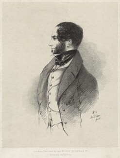 Francis Nathaniel Conyngham, 2nd Marquess Conyngham, by Richard James Lane, printed by  Graf & Soret, published by  John Mitchell, after  Alfred, Count D'Orsay - NPG D32194