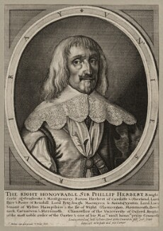 Philip Herbert, 4th Earl of Pembroke, by Wenceslaus Hollar, after  Sir Anthony van Dyck - NPG D26560