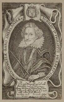Philip Herbert, 4th Earl of Pembroke, by Simon de Passe - NPG D26561