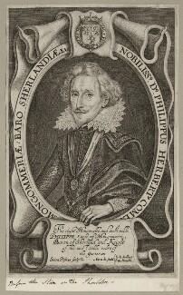 Philip Herbert, 4th Earl of Pembroke, by Simon de Passe - NPG D26562
