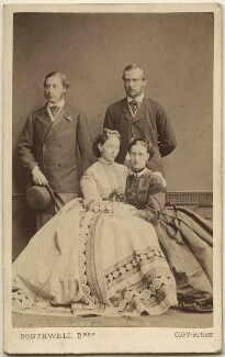 King Edward VII; Princess Alice, Grand Duchess of Hesse; Louis IV, Grand Duke of Hesse and by Rhine; Queen Alexandra, by Southwell Brothers - NPG Ax24160