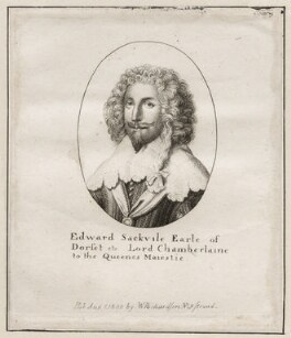 Edward Sackville, 4th Earl of Dorset, after Sir Anthony van Dyck, published by  William Richardson - NPG D26565
