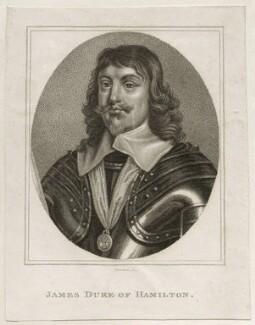 James Hamilton, 1st Duke of Hamilton, by Innocenzo Geremia - NPG D26572