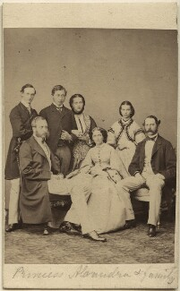 Royal family group, by François Deron, published by  Samuel E. Poulton, 9 September 1862 - NPG Ax24159 - © National Portrait Gallery, London