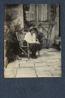 Marian Stoll (née Buck), by Lady Ottoline Morrell - NPG Ax141969