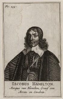 James Hamilton, 1st Duke of Hamilton, after Sir Anthony van Dyck - NPG D26574