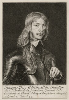 James Hamilton, 1st Duke of Hamilton, after Unknown artist - NPG D26576