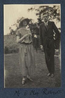 Mrs Roberts; Mr Roberts, by Lady Ottoline Morrell - NPG Ax141970