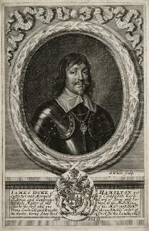 James Hamilton, 1st Duke of Hamilton, by Robert White - NPG D26577