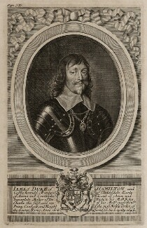 James Hamilton, 1st Duke of Hamilton, by Robert White - NPG D26579