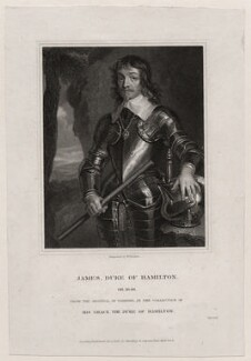 James Hamilton, 1st Duke of Hamilton, by William Finden - NPG D26581