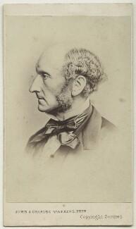 John Stuart Mill, by John & Charles Watkins, or by  John Watkins - NPG Ax17818