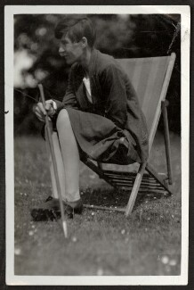 Alix Strachey, by Unknown photographer - NPG Ax24030