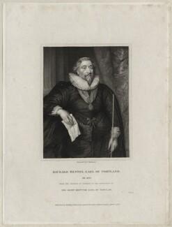 Richard Weston, 1st Earl of Portland, by G. Kellaway - NPG D26589