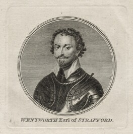 Thomas Wentworth, 1st Earl of Strafford, after Sir Anthony van Dyck - NPG D26597