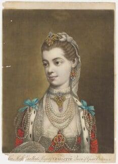 Charlotte of Mecklenburg-Strelitz, by Thomas Frye - NPG D9089