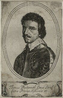 Thomas Wentworth, 1st Earl of Strafford, after Sir Anthony van Dyck - NPG D26601