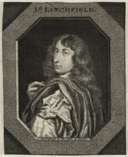 Lord Bernard Stuart, by George Vertue, after  Sir Anthony van Dyck - NPG D26610