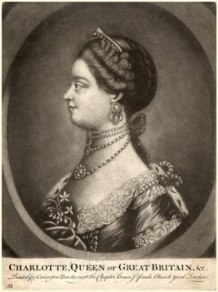 Charlotte of Mecklenburg-Strelitz, after Unknown artist - NPG D9111