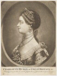 Sophia Charlotte of Mecklenburg-Strelitz, after Unknown artist, late 18th century - NPG D9111 - © National Portrait Gallery, London