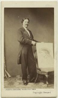 Edmund Hodgson Yates, by John & Charles Watkins - NPG Ax7544