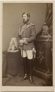 George Henry Conyngham, 3rd Marquess Conyngham, by Alexander Bassano - NPG Ax5094