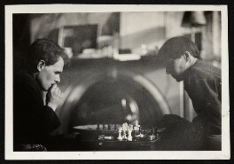 Anthony Asquith; Alix Strachey (née Sargant-Florence), by Unknown photographer, late 1920s - NPG Ax131211 - © National Portrait Gallery, London
